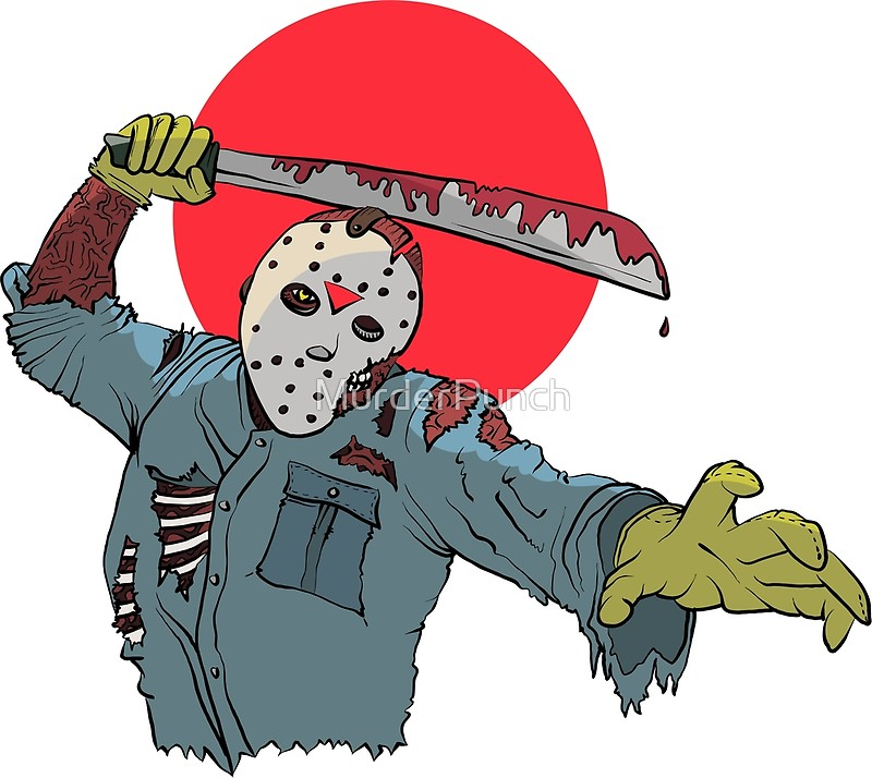 800x714 Rising Sun Jason Voorhees Canvas Prints By Murderpunch Redbubble