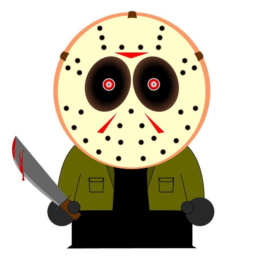 894x894 South Park Jason Movies Horror Horror, Horror