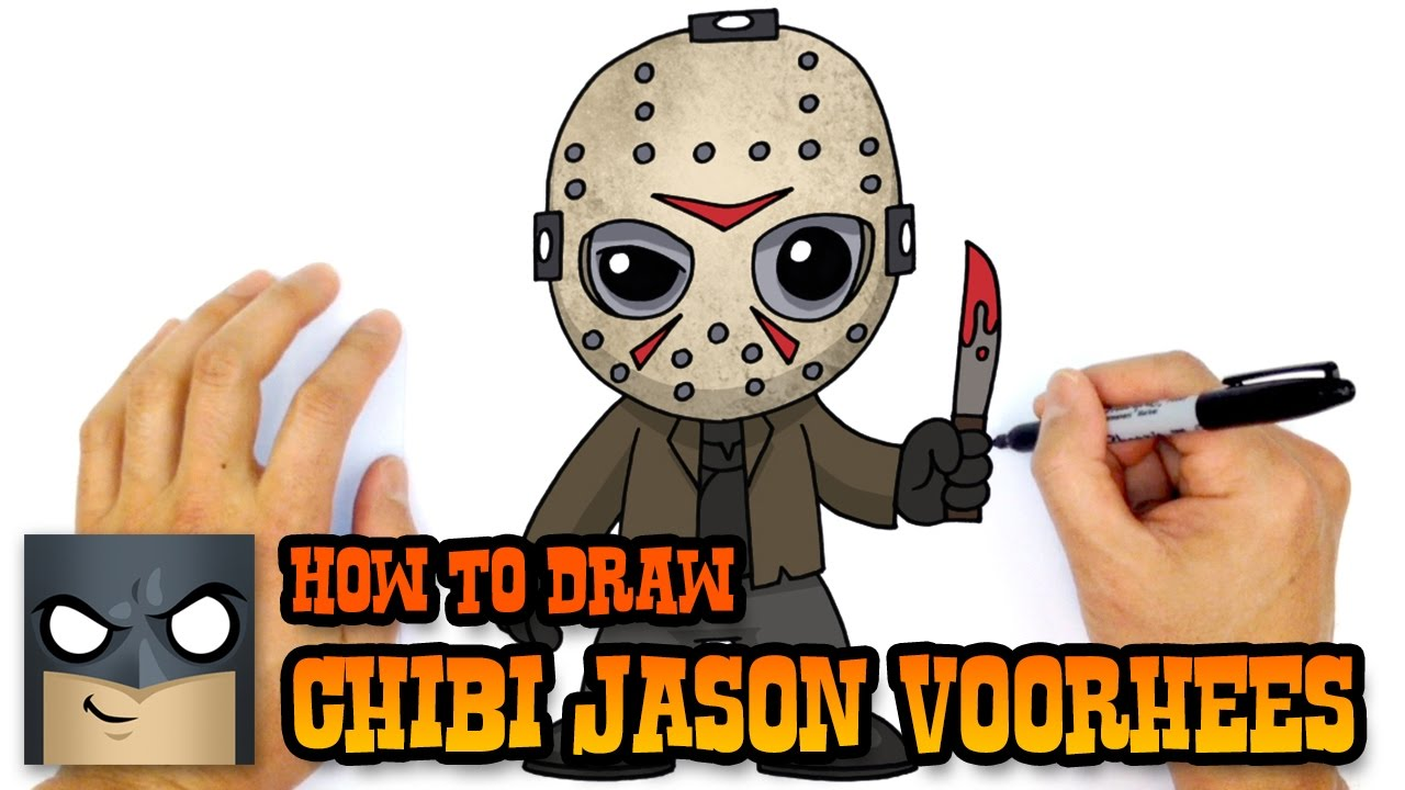 1280x720 How To Draw Jason Voorhees Friday The 13th