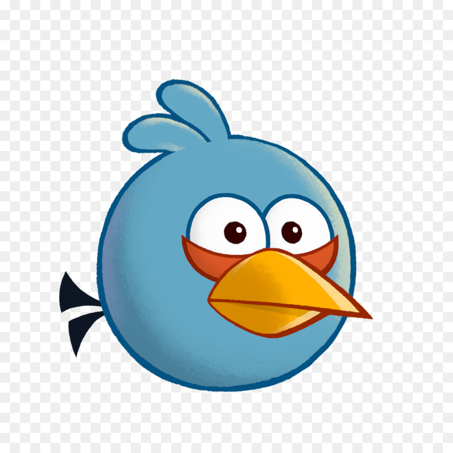 900x900 Angry Birds Stella Angry Birds Friends Blue Jay Clip Art