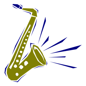 300x300 Free Saxophone Clip Art Image Beginning Band Clipart 2