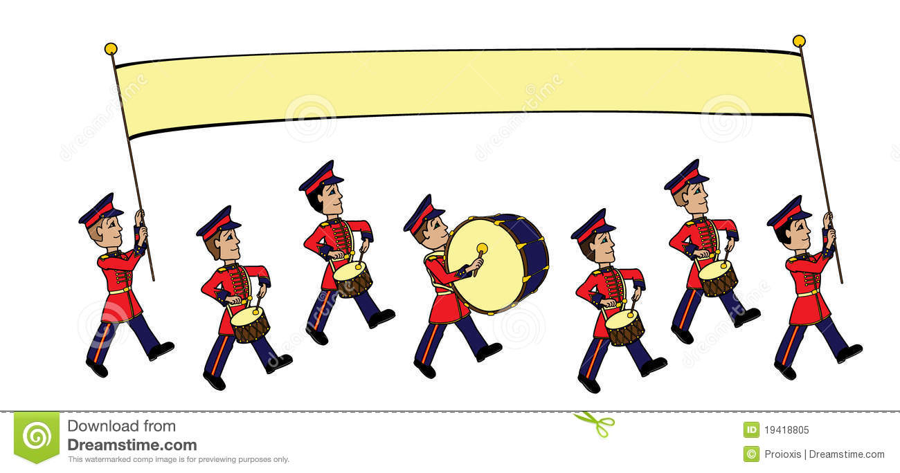 1300x684 Marching Band Clipart Free Animated
