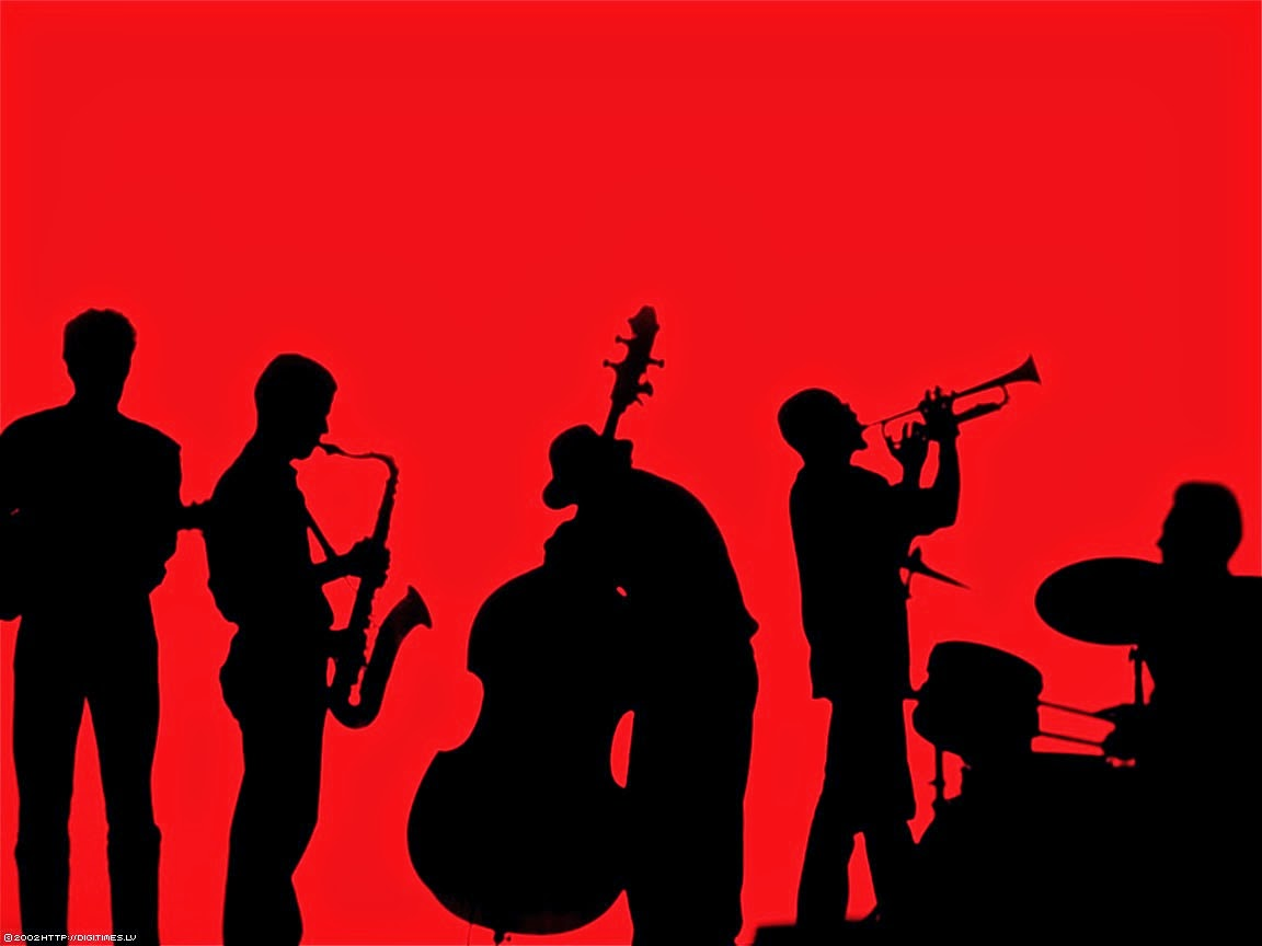 1152x864 Jazz Band Clipart