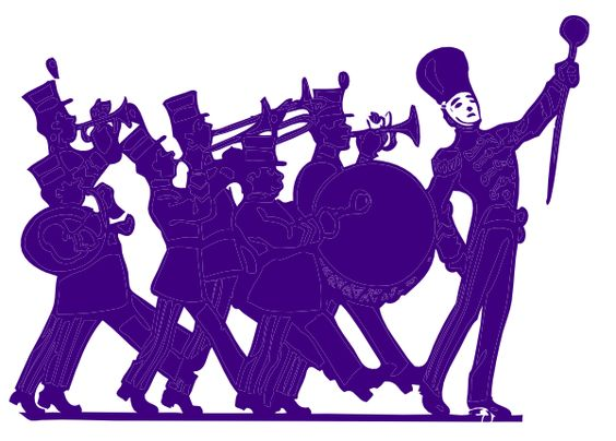 564x404 Clip Art Marching Band Banners Clipart