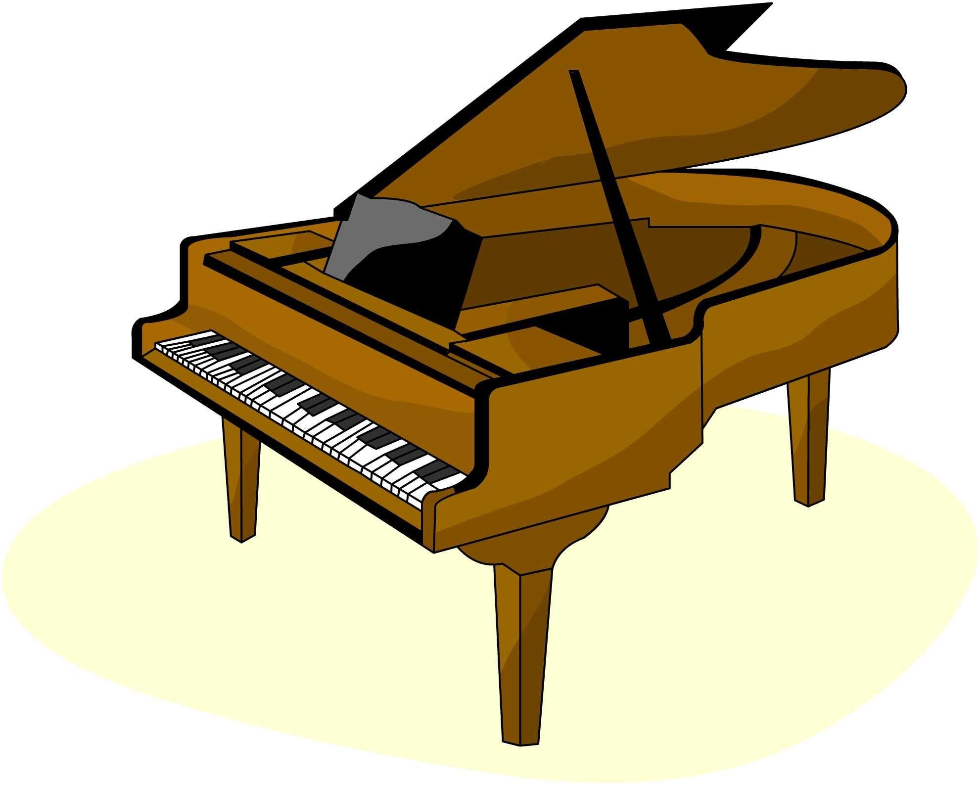 1981x1587 Drawn Piano Clip Art