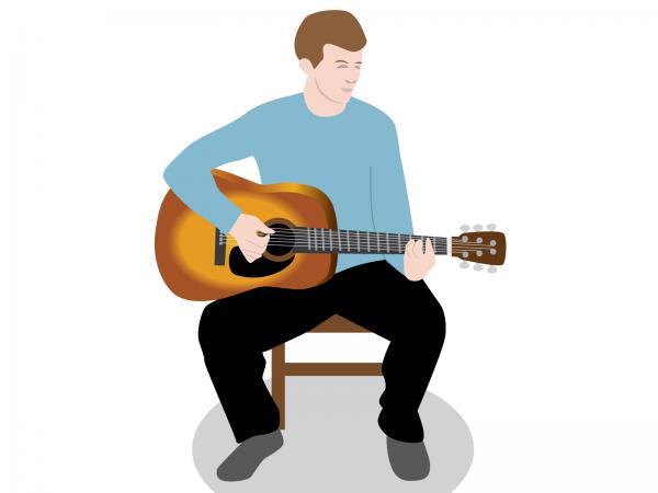 600x450 Free Guitar Clip Art