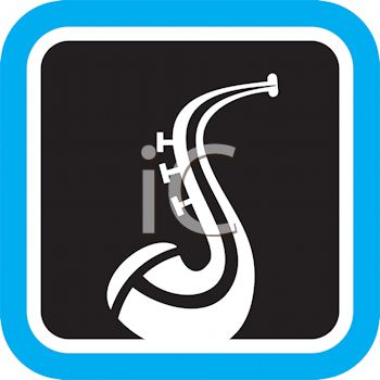 350x350 Jazz Saxophone Icon