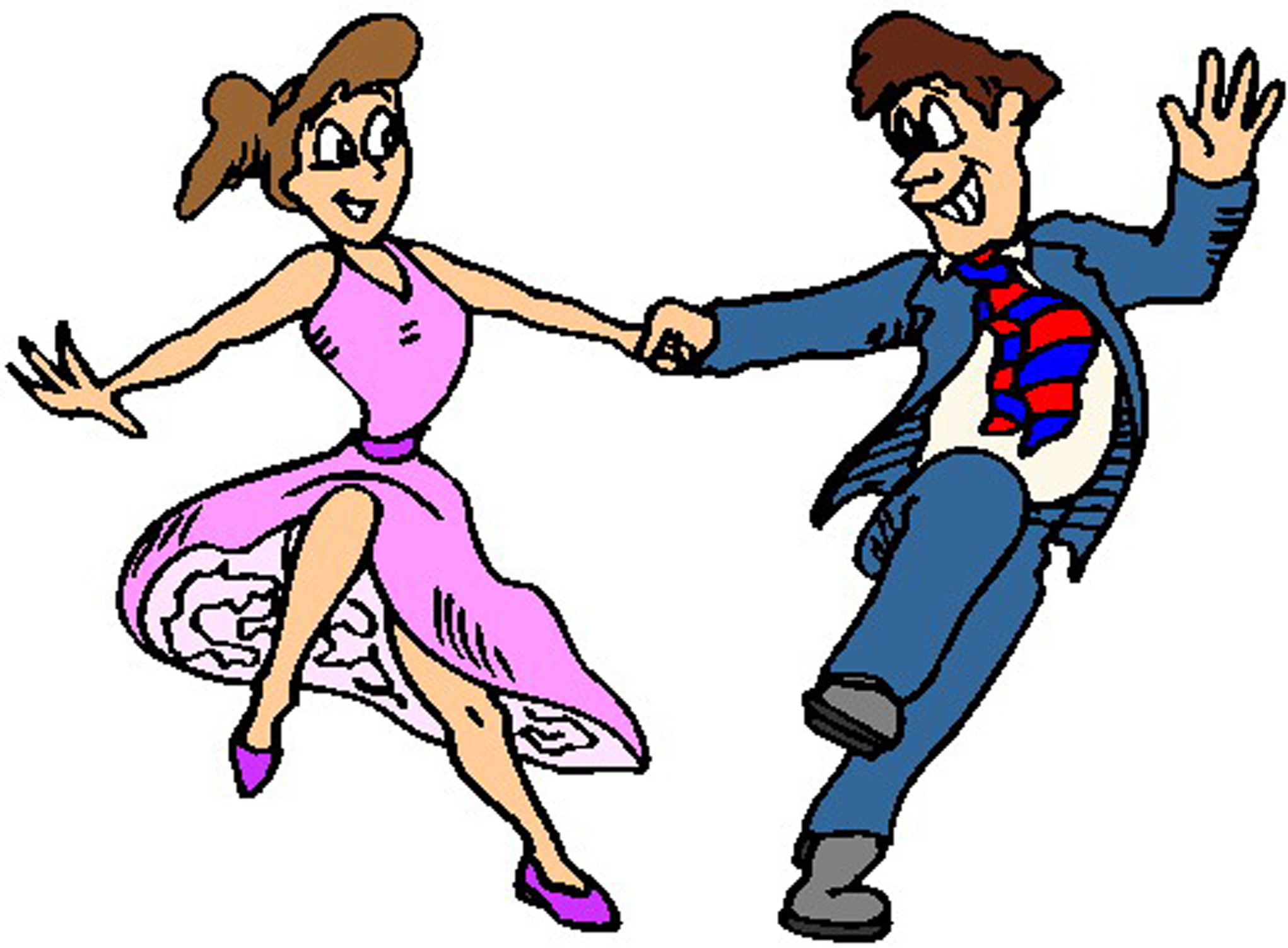 2042x1504 Clip Art Of A Dancing Person Clipart