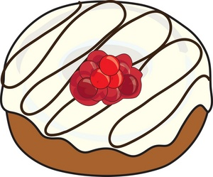 300x249 Donut Clip Art Free Clipart Images