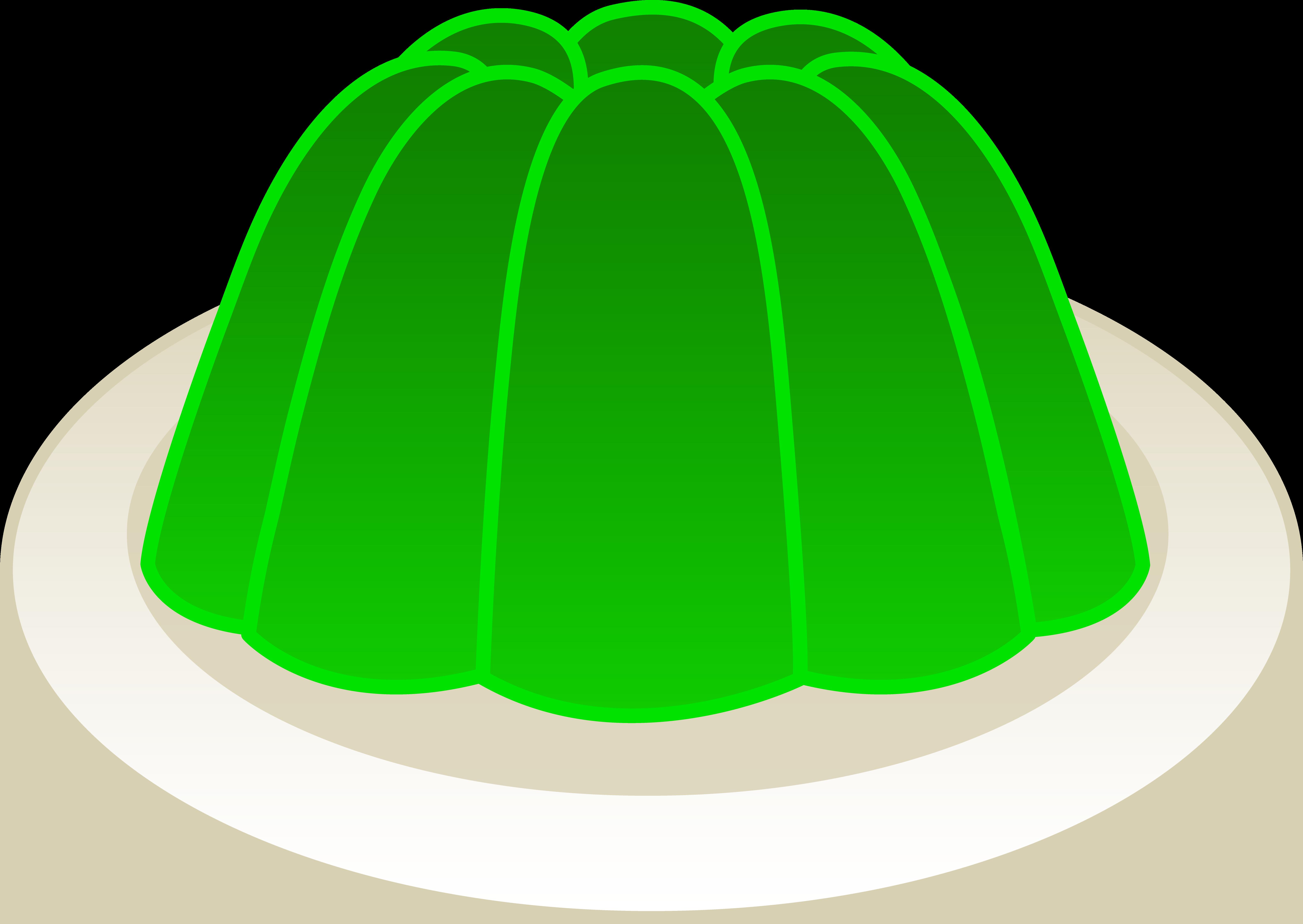 6341x4496 Jelly Clipart Jello