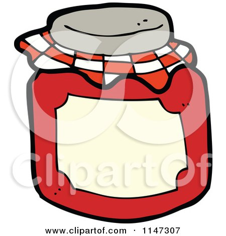 450x470 Royalty Free (Rf) Strawberry Jelly Clipart, Illustrations, Vector