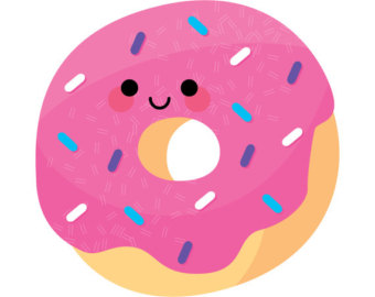 340x270 Donut Clip Art