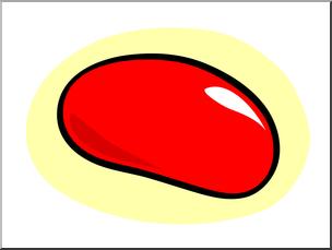 304x229 Clip Art Basic Words Jellybean Color Unlabeled I
