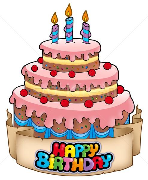 494x600 Bday Cake Clip Art