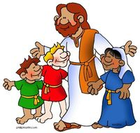 200x190 Collection Of Jesus And Children Clipart High Quality, Free