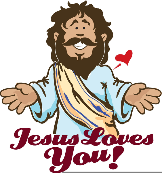 563x600 Free Clipart Jesus Children Free Images