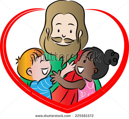 450x415 Jesus Cartoon For Kids Group