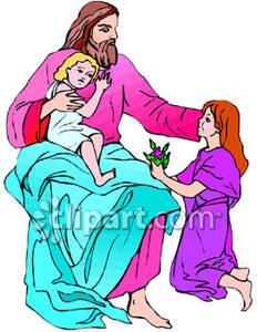 232x300 Top 84 Jesus Children Clip Art