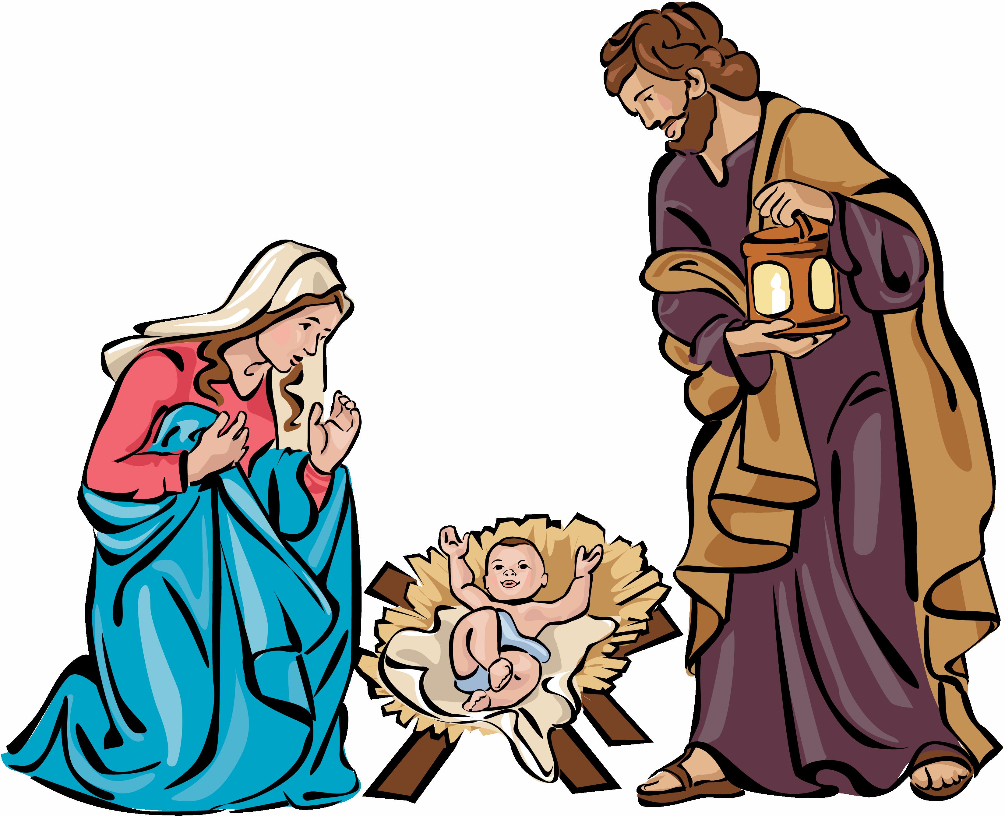 3300x2679 Christmas Holy Family Clip Art 1261203