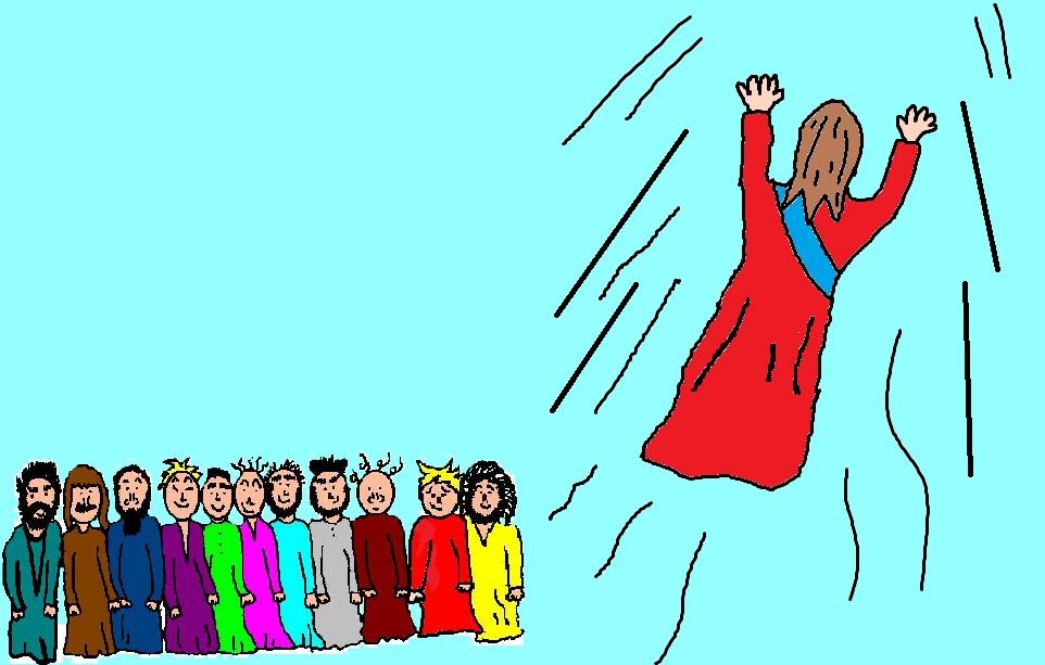 962x613 12 Apostles Clipart