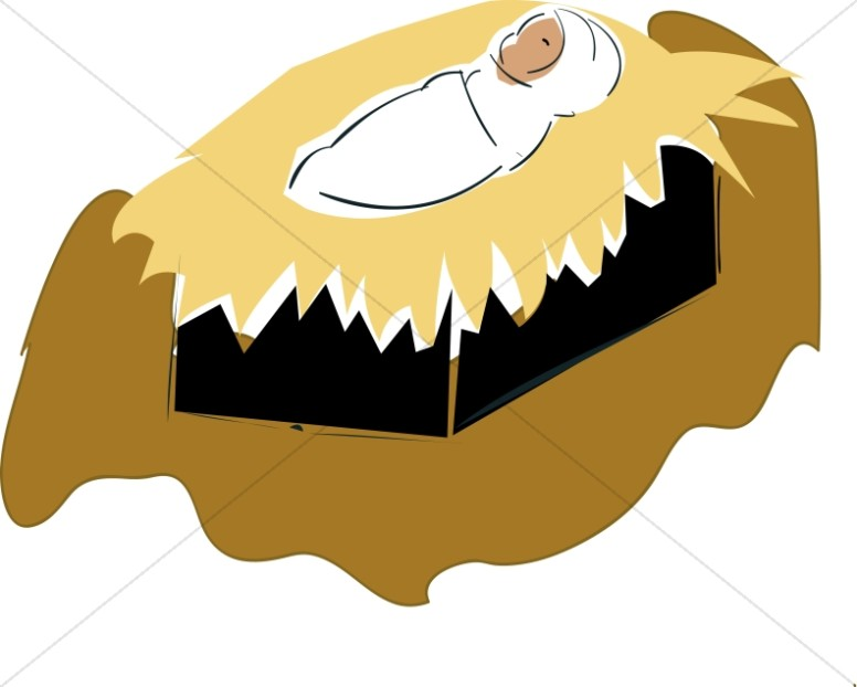 776x622 Swaddled Baby Jesus Clipart Baby Jesus Clipart