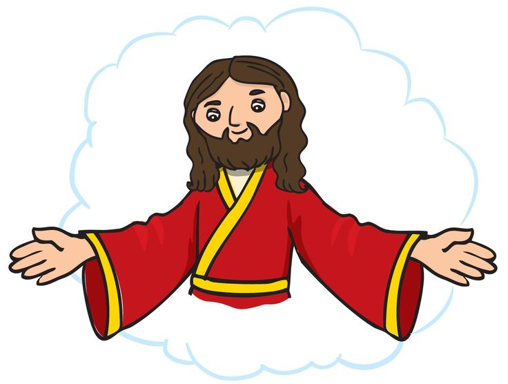 Jesus Ascension Clipart