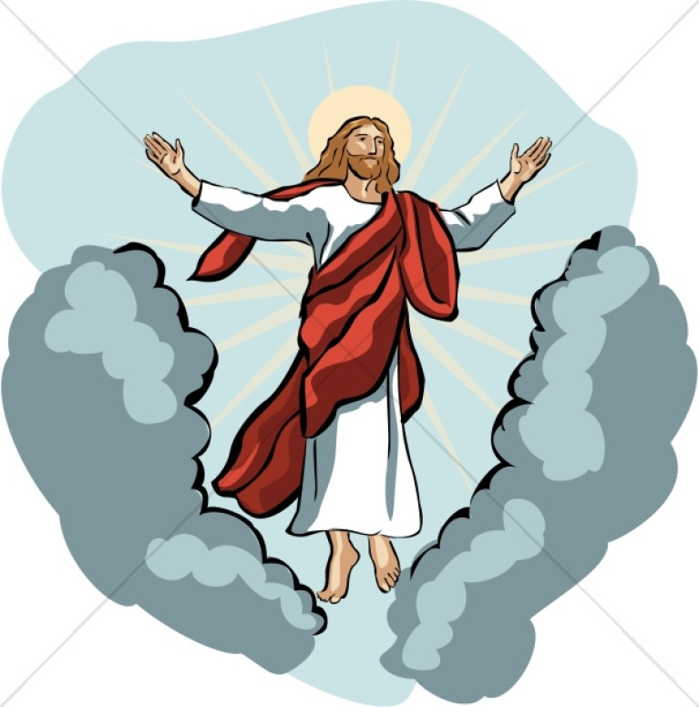 767x776 Christianity Clipart Jesus Ascension Day Clipart
