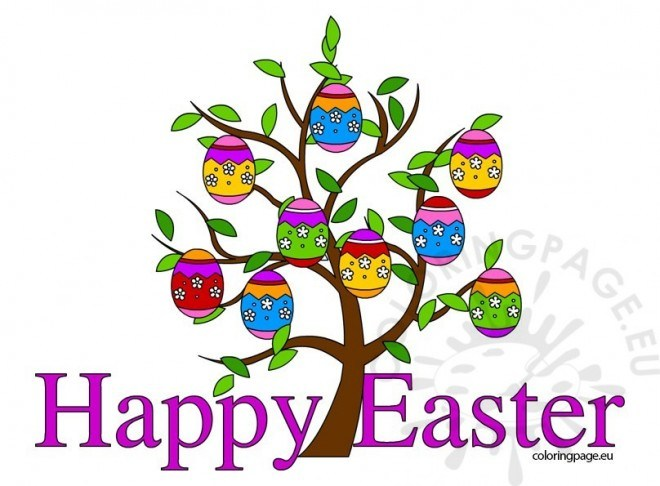 660x486 Happy Easter Clip Art 2018 For Kids