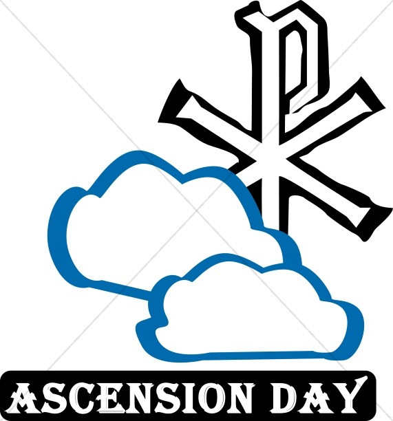 571x612 Ascension Day 2017 Clipart