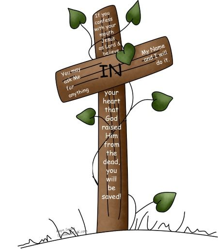 Jesus Christ On The Cross Clipart