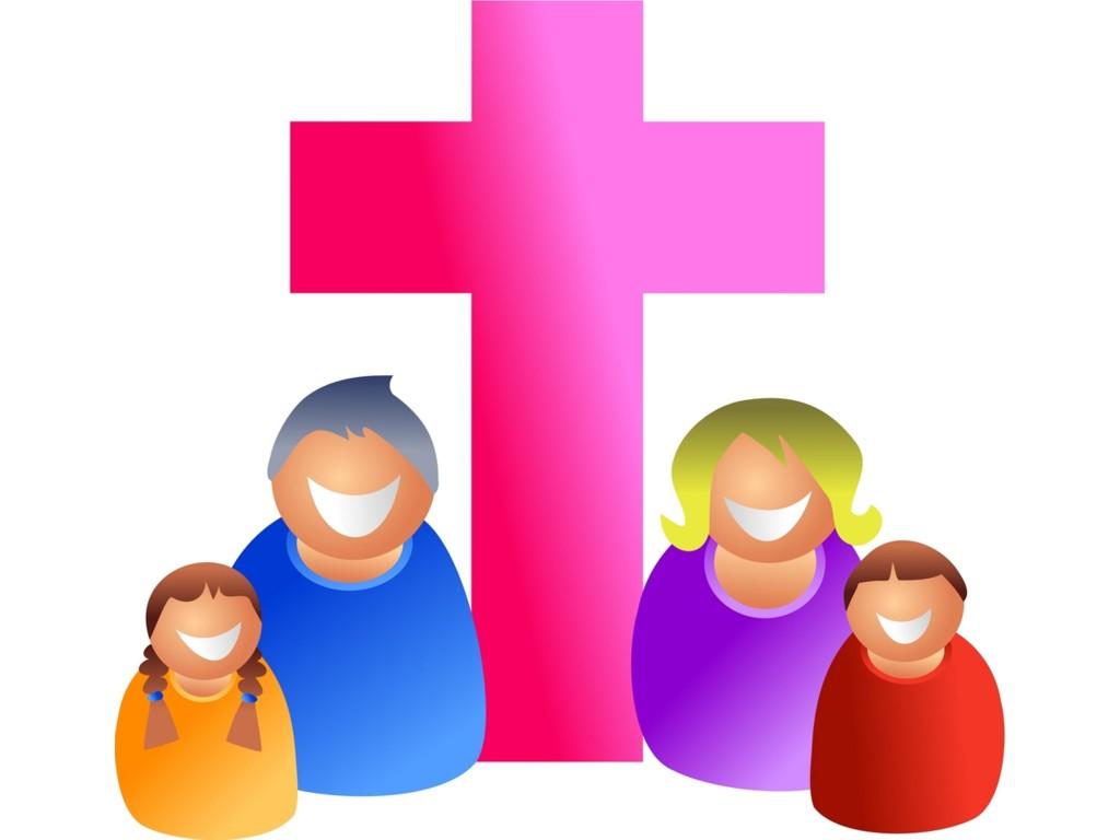 1024x768 Church Clipart Childrens Family