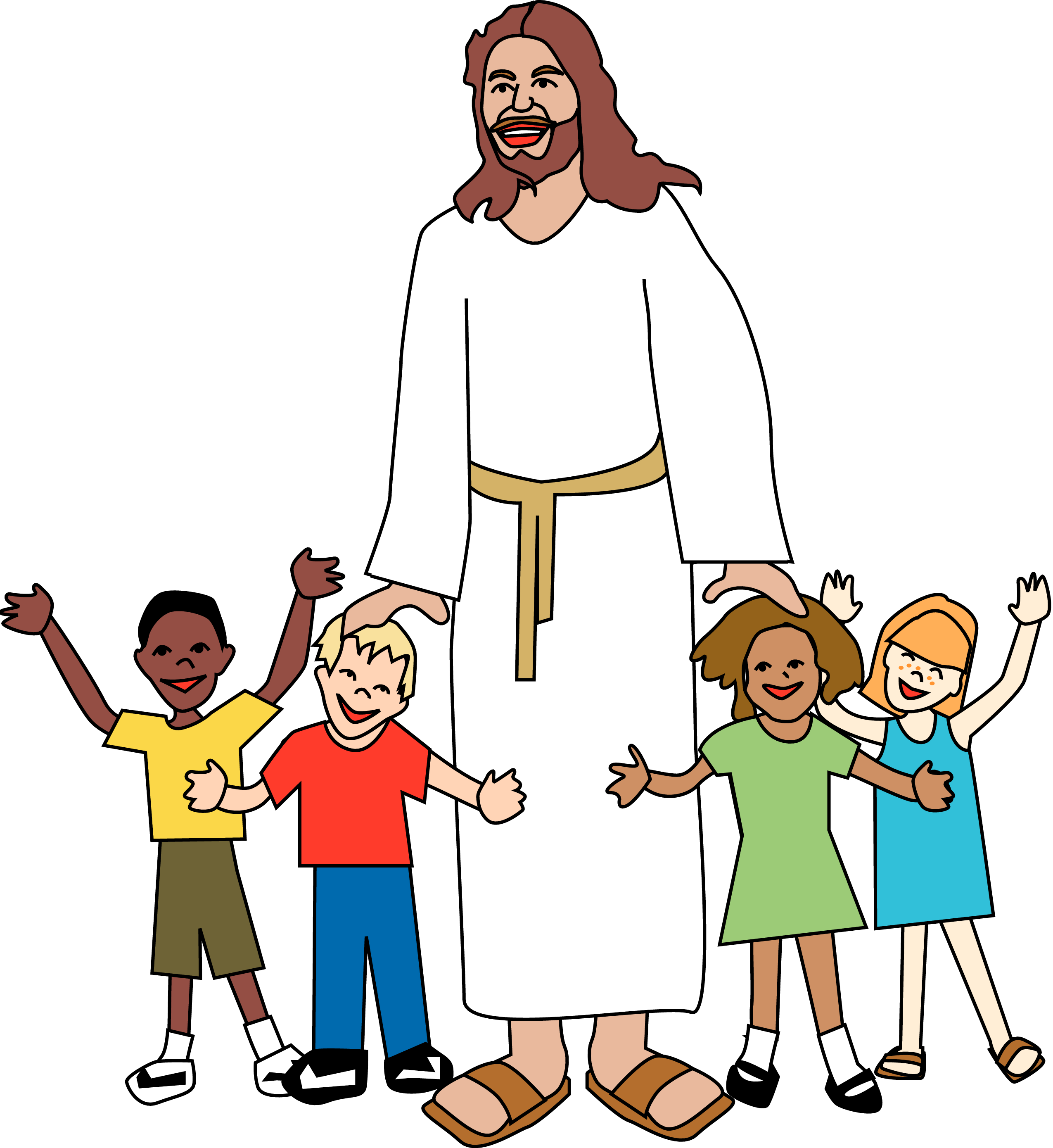 2550x2779 sunday school jesus clip art merry christmas amp happy new year arts