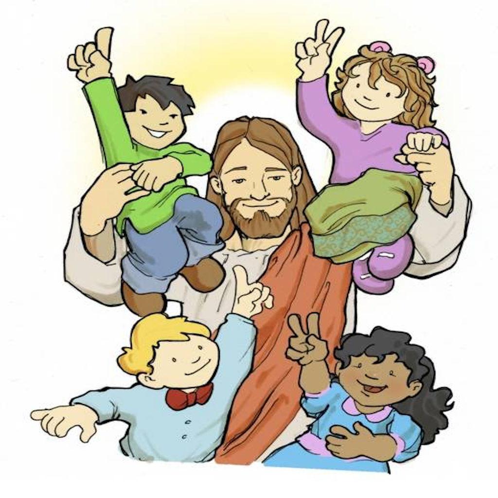 1024x1024 Top 84 Jesus Children Clip Art