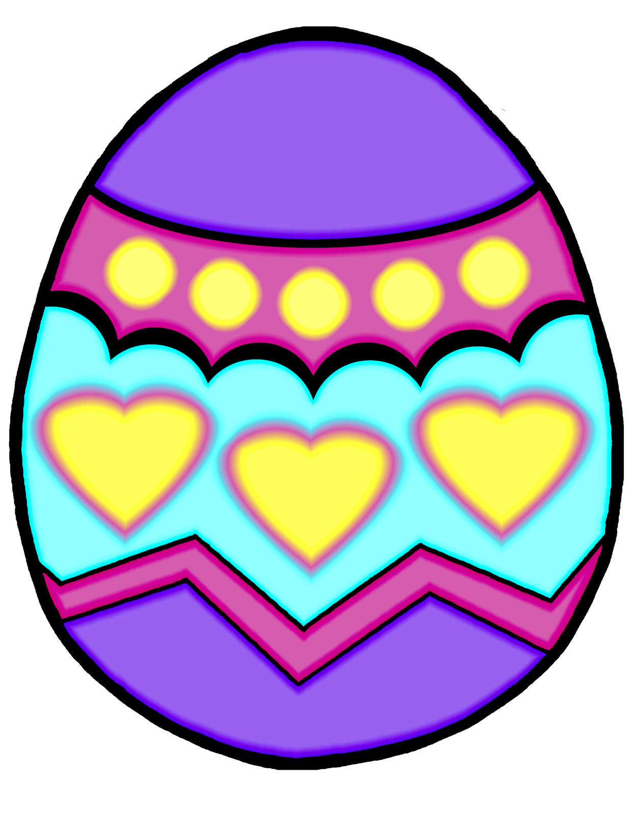 1252x1600 Free Easter Egg Clip Art Images Happy Easter Amp Thanksgiving 2018