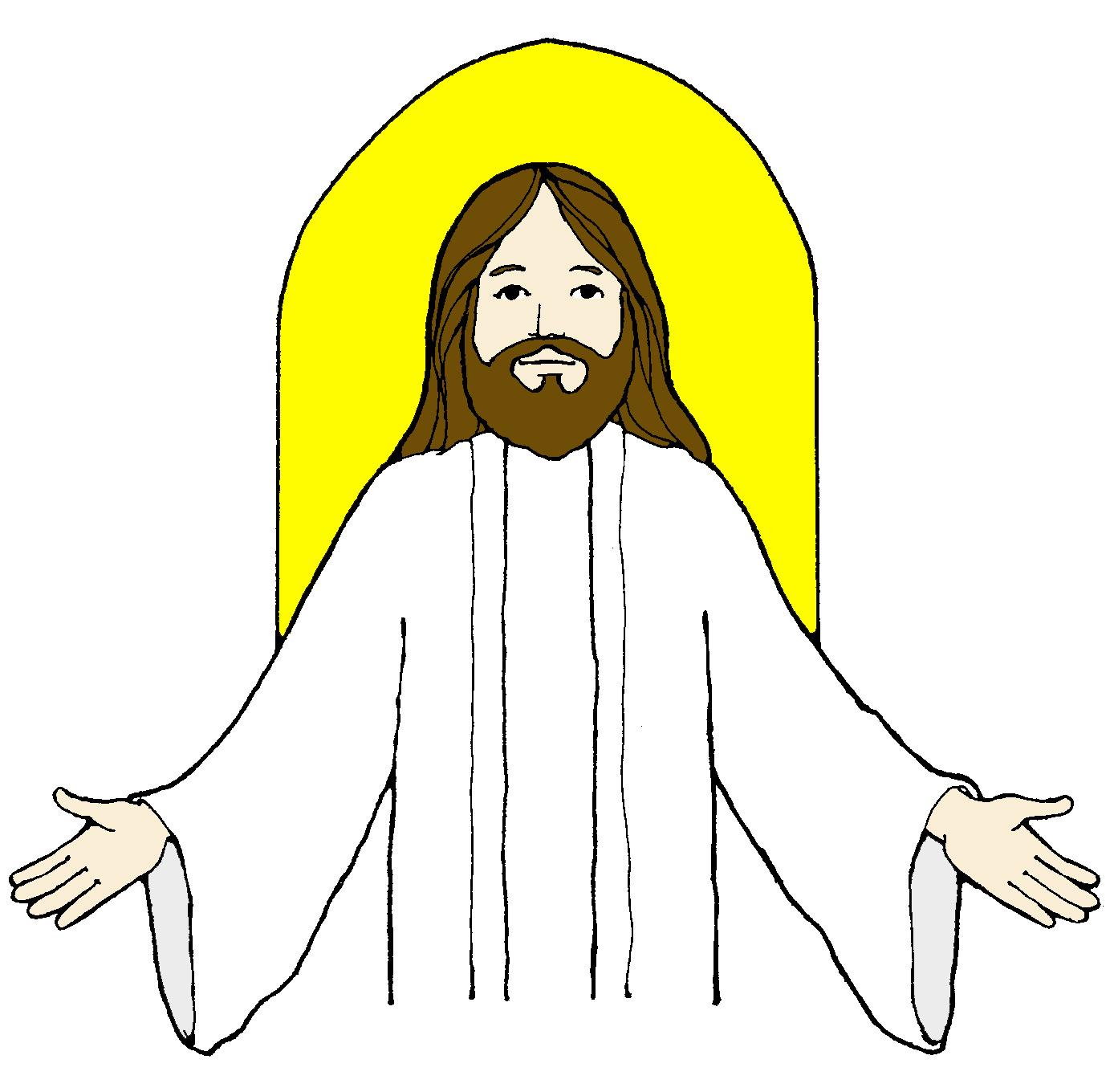 1388x1360 Jesus Christ Clip Art