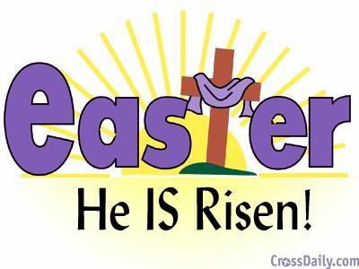 Jesus Has Risen Clipart