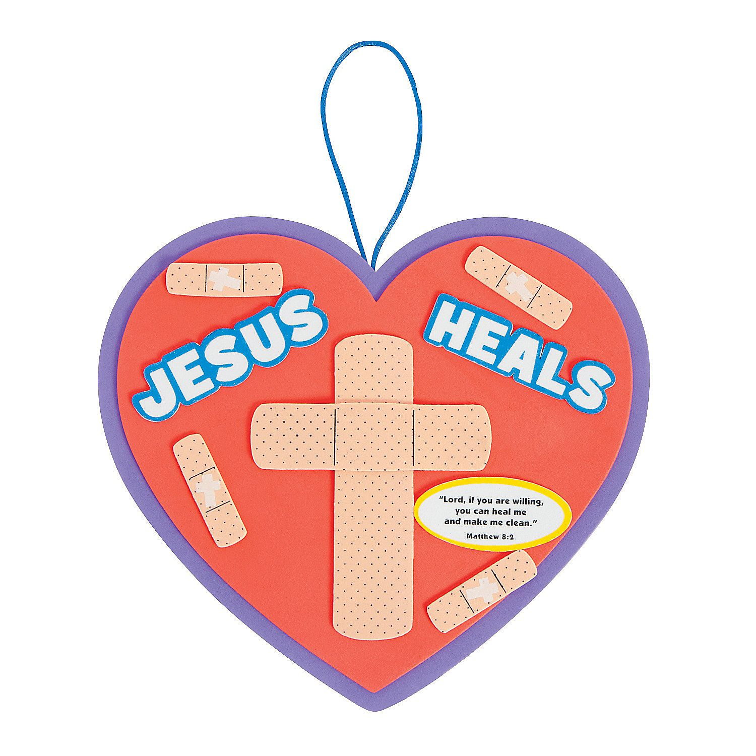 1500x1500 Jesus Heals Sign Craft Kit