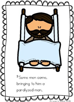255x350 Jesus Heals The Paralyzed Man By Enthusiastic Teacher Tpt