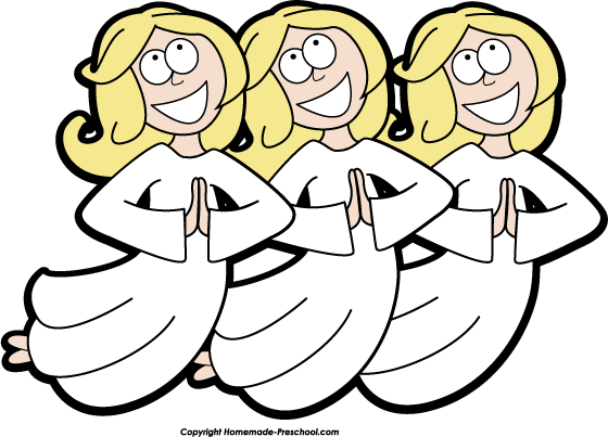 560x403 Angel Clipart Nativity Pencil And In Color