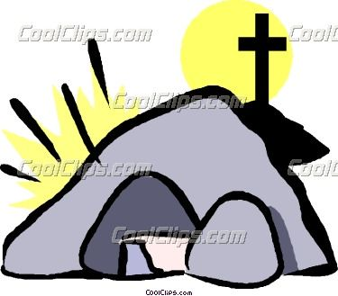 375x329 Jesus Empty Tomb Clipart