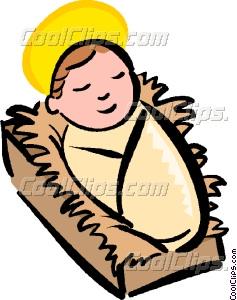 237x300 Baby Jesus Vector Clip Art