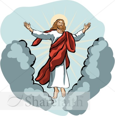 383x388 Christianity Clipart Jesus Ascension Day Clipart