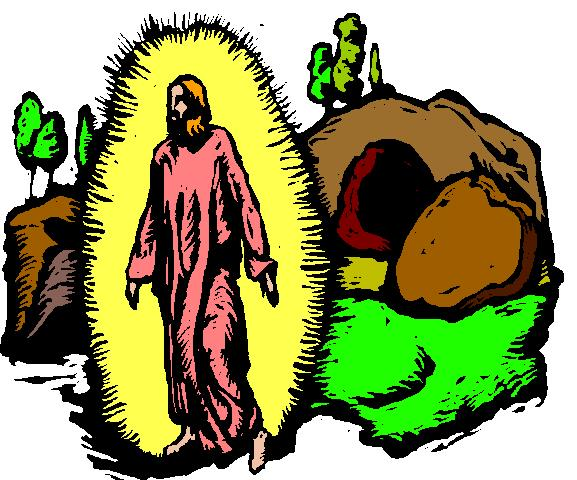 577x480 Jesus Rises From The Dead Clipart