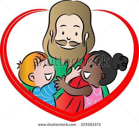 450x415 Jesus Is Love Clipart