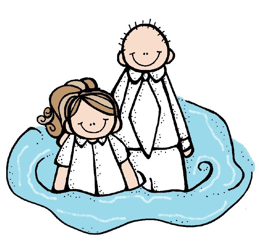 849x801 Lds Clipart Baptism Girl