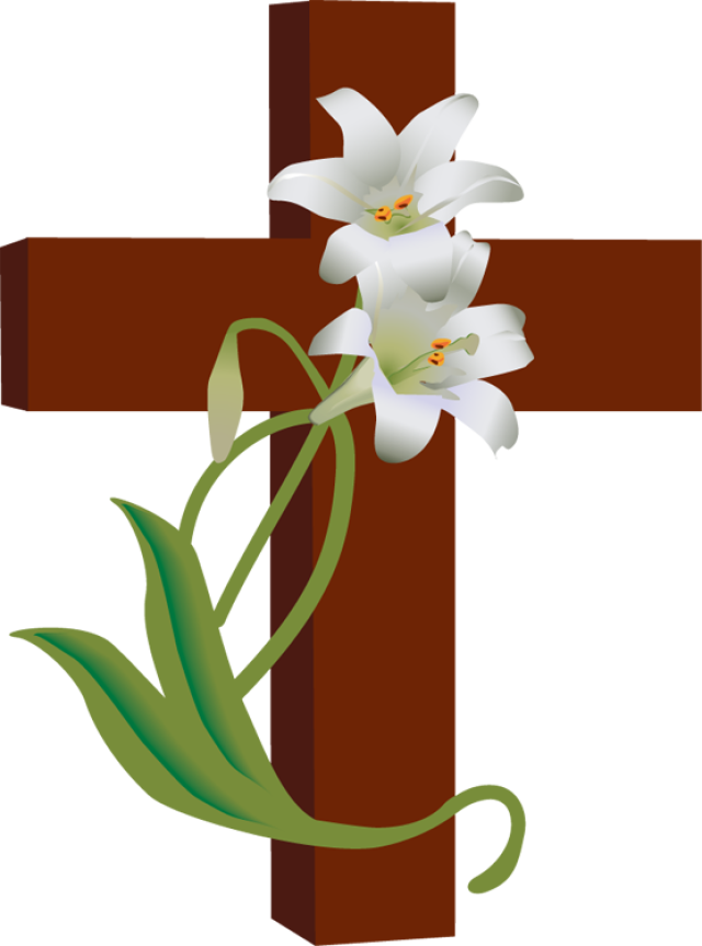 640x863 Religious Easter Clip Art Happy Easter 2018