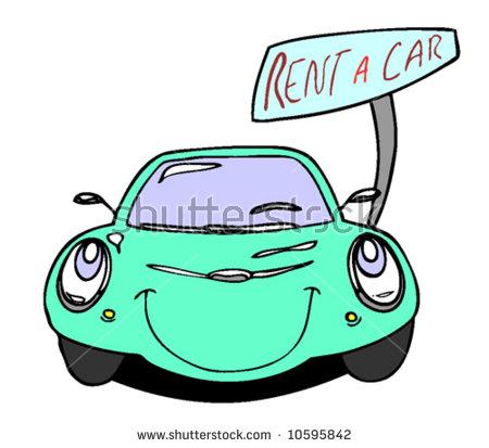 450x413 Rent A Car Clipart