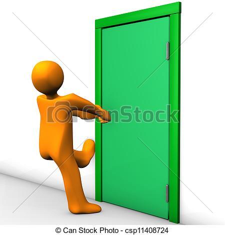 450x470 Closing Door Clipart