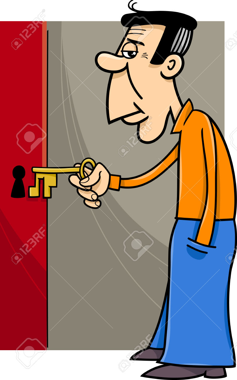 813x1300 Collection Of Man Opening Door Clipart High Quality, Free