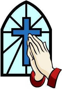 218x311 Clip Art Of Crosses With Praying Clipart